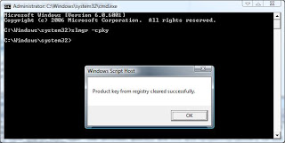 Clear Windows Product Key From Registry