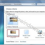 How To Use Windows 7 'Desktop Slide Show' Feature?