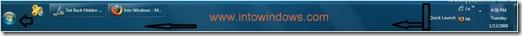 Full Windows 7 taskbar