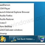 How To: Get Back Quick Launch Bar In Windows 7 Taskbar