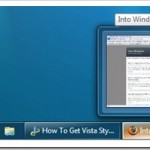 How To Get Back Vista Taskbar In Windows 7