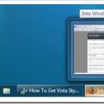 How To Get Back Vista Taskbar In Windows 7