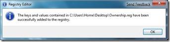 Registry Editor Confirmation 2