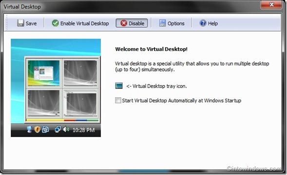 TweakNow PowerPack 2009 Virtual Desktop