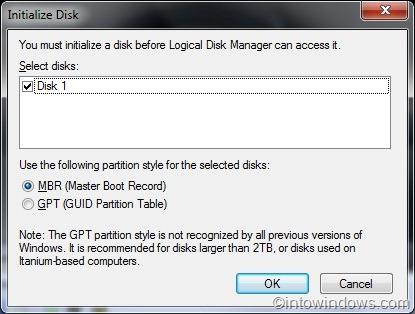 How To Create, Attach & Detach A Virtual Hard Disk (VHD) In Windows 7