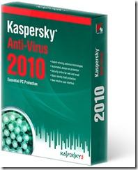 Kaspersky antivirrs 2010