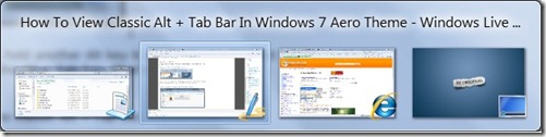 How To View Classic Alt + Tab In Windows 7 Aero Theme pic2