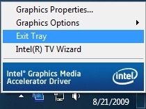 How To Remove Intel Graphics Icon From Windows 7 System Tray pic1