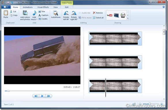 live movie maker