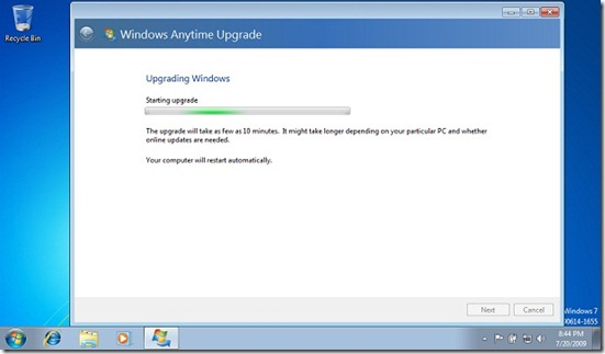 windows anytime upgrade 3