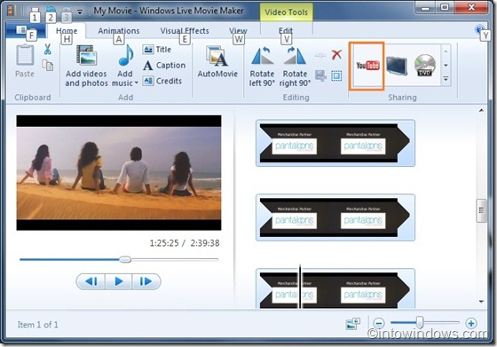how to publishpostupload a video to youtube from windows