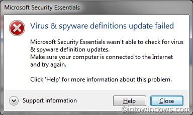 Microsoft security essentials not updating virus definitions kuwaiti dating singles