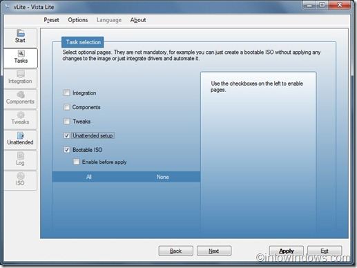 create unattended windows 7 install step3