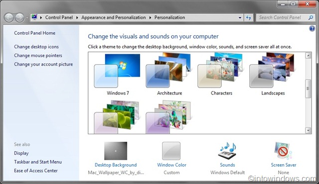 windows 7 features As with many features in windows 7 that have been carried over from windows vista, people will notice there's far more granular settings control than before.