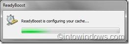 Readyboost configuring