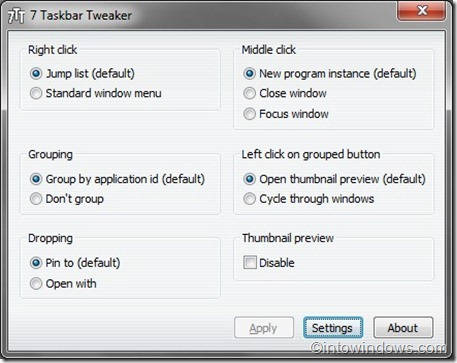 7 Free Tools To Tweak and Customize Windows 7 Taskbar pic1