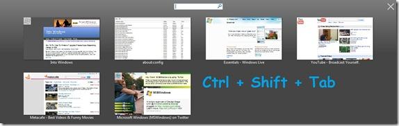 ctrl shift tab feature in firefox 3.6