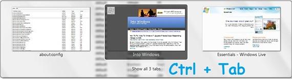 ctrl tab feature in firefox 3.6
