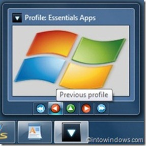 windows7application laucher from taskbar