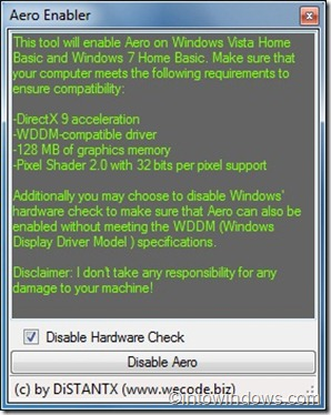How To Easily Enable Aero Transparency In Windows 7 Home