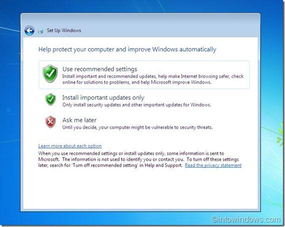 install updates 3