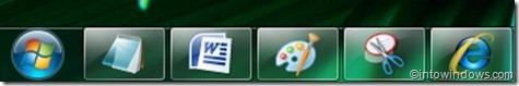 windows 7 taskbar small