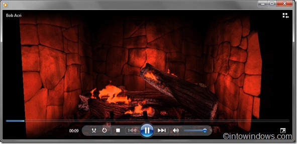 Visualization for Windows 7 media player