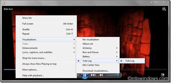 enable visualization in Windows 7