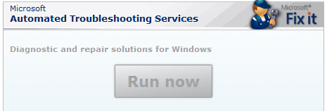 repair Windows XP issues online using Microsoft ATS pic1