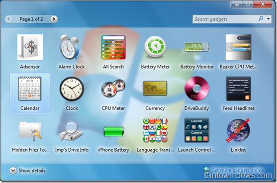 Windows 7 forex desktop gadget
