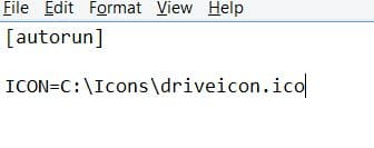 Change Windows 7 drive icon