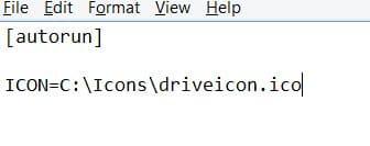 Change Windows 7 drive icon