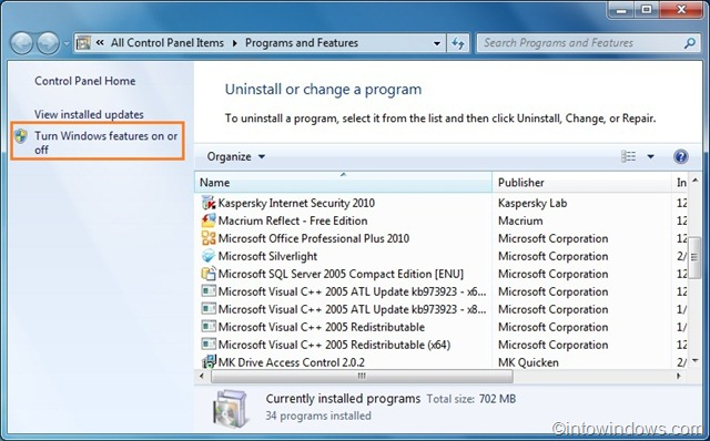 windows 7 how to expand group of open programs