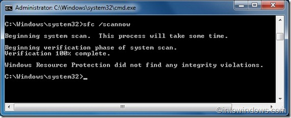 Repair Windows 7 System Files