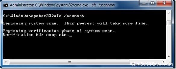 Repair system files