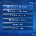 Sleep Timer For Windows 7 Media Center