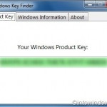 Recover Windows 7 Product Key With Windows Key Finder