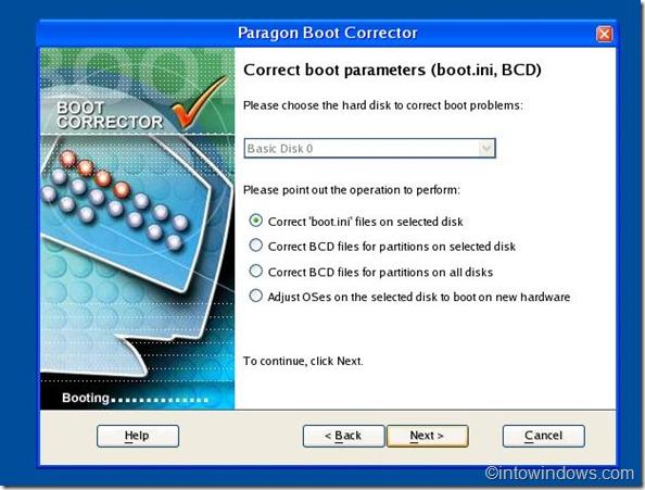 boot corrector step 3