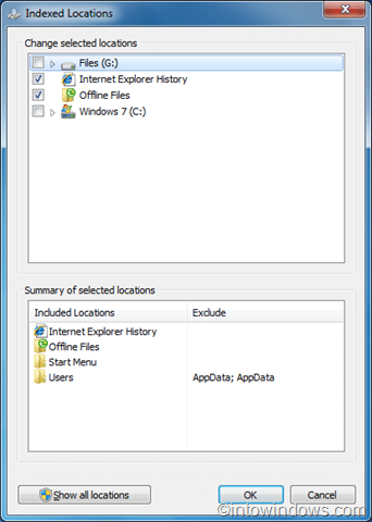 add new locations to Windows 7 search index pic04
