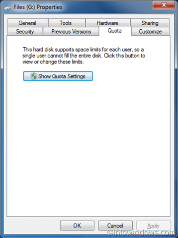 How To Enable Disk Quota Management In Windows 7 pic1