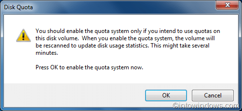 How To Enable Disk Quota Management In Windows 7 pic3