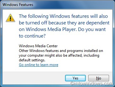 How To Reinstall Windows Media Player In Windows 10/7