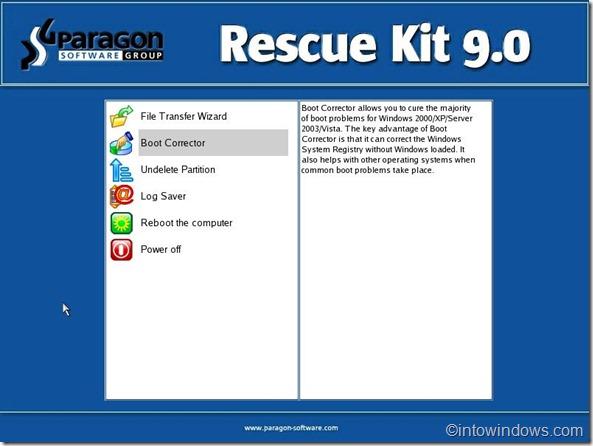 rescue kit boot corrector