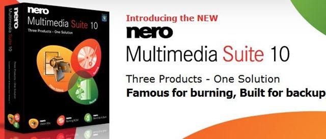 Cheap Nero 10 Multimedia Suite