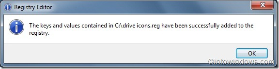 Show drive letter on drive icons