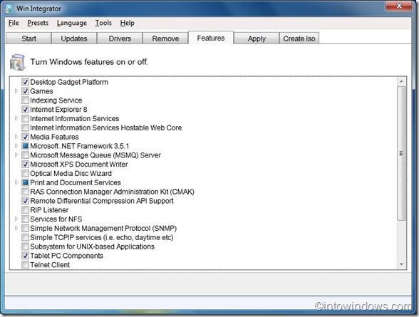 Win Integrator for Windows