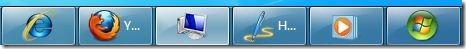 change taskbar button size in windows 7