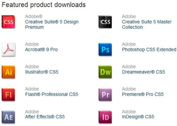 adobe photoshop cs5.1 free trial download