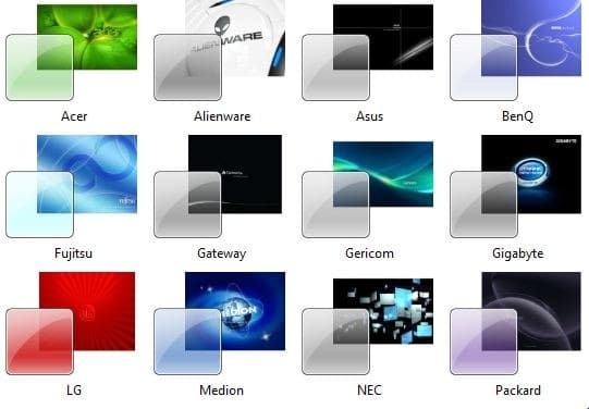Download OEM themes