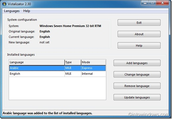 Install Language pack in Windows 7 Professional guide